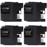 Compatible Brother LC-203BK / LC-203C / LC-203Y / LC-203M ( LC203C ) Multicolor Printer Ink Cartridge