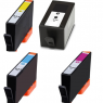 Remanufactured HP 934XL Black / 935XL Cyan / 935XL Magenta / 935XL Yellow ( C2P23AN ) Multicolor Printer Ink Cartridge
